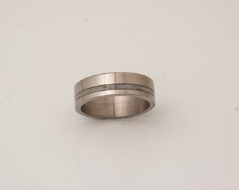 titanium antler ring antler wedding band titanium band