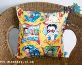 "Cute Betty Boop cushion 18"" x 18"""