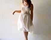 Wedding Dress, Short Wedding Dress, Rehearsal dress, Fairy wedding dress, Alternative wedding dress, whimsical dress, Reception Dress