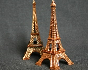 Been to Paris. Miniature Eiffel Tower souvenir from France.