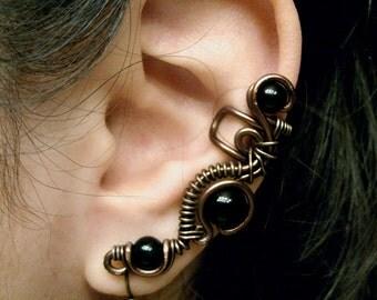 Dark Power Ear Cuff