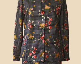 Sears Floral Pants Suit