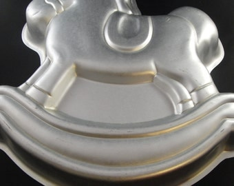 Rocking Horse Wilton Cake Tin 1984