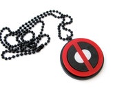 Deadpool Necklace - Acrylic