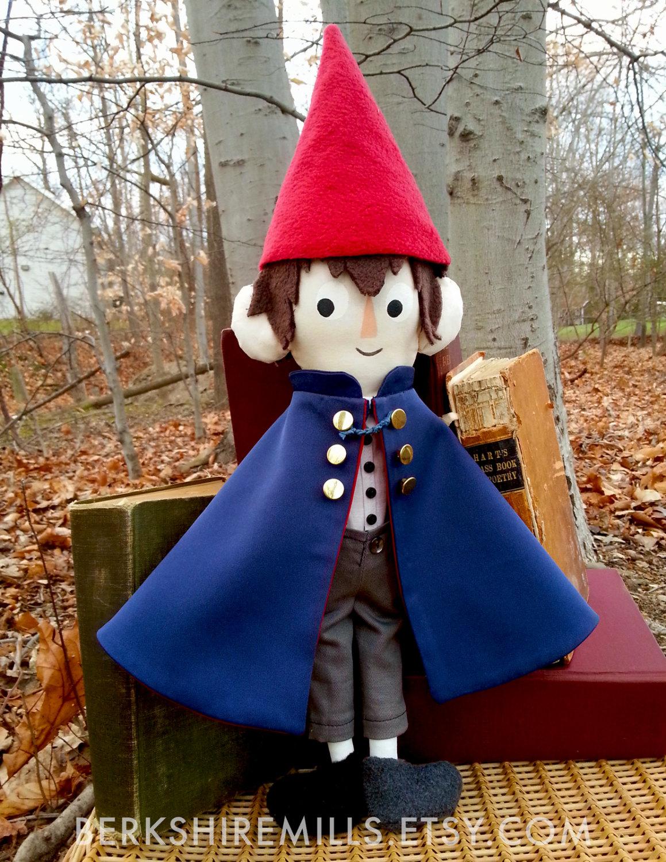 Over The Garden Wall Wirt Plush Art Doll