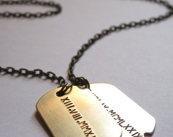 Mens Necklace Etsy