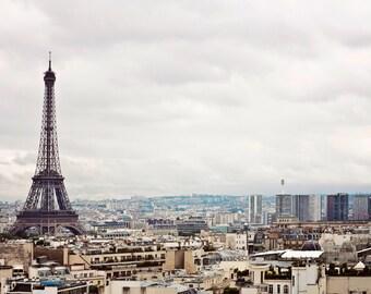 PARIS Eiffel Tower Photo, Paris Photography, Eiffel Tower Photo, The Iron Lady, Paris Landscape, Paris Print, Paris Icon, Architecture Paris