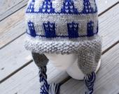 Who's Number One Dalek/Tardis Peruvian Hand Knit Hat