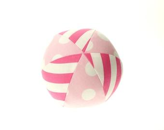 "Pink Small (4"") Cloth Ball"