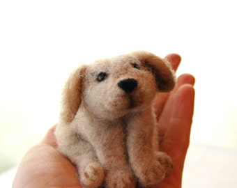 Needle Felted Puppy. Needle Felted Dogs. Felted Animals. Wool Felt Dog. Kids Toy. Childs Gift. Wool Pet. Felted Dog. Felted Puppies. Waldorf
