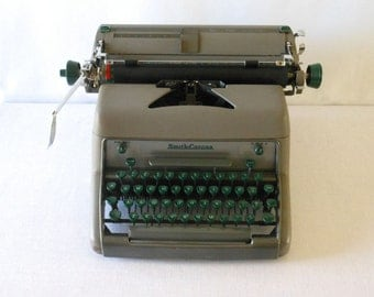 Vintage Smith Corona Eighty Eight Typewriter