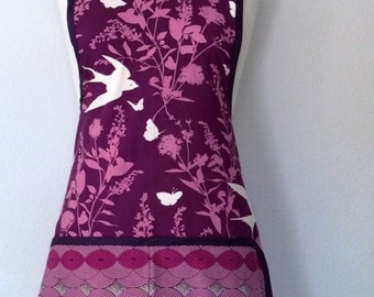 Purple Women's Retro Apron!