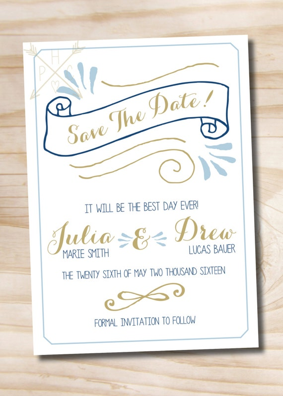Sassy image for save the date printable