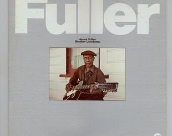 Jesse Lone Cat Fuller, Jesse Fuller Brother Lowdown 2 Lp Set Folk Blues San Francisco Bay Blues Fantasy LP 24707 Vintage Vinyl Record Album