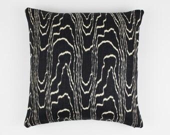 ON SALE Kelly Wearstler Agate Pillows in Ebony/Beige (18 X 18 Both Sides)