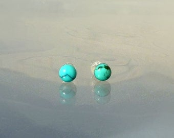 Turquoise Earrings  - The Clearity Foundation  - Ovarian Cancer Fundraising - Surgical Steel Earrings