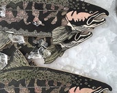 PRE-ORDER Campbell's Coho Salmon Woodcut Sculpture Print