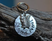 Pet ID Tag / Dog Tag / Funny Dog Tag / Squirrel Patrol