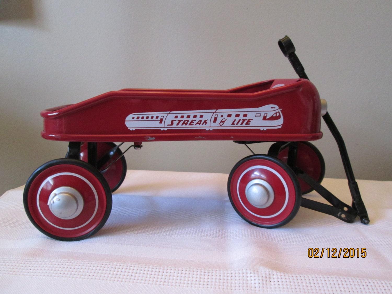 Vintage Radio Flyer Wagon 26