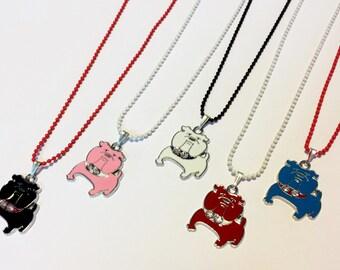 Sale! Bulldog Necklaces