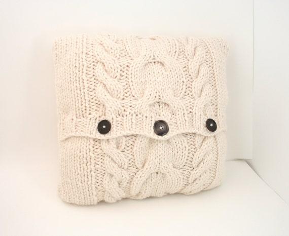 DIGITAL PATTERN:Knit Pillow Cover PATTERNThrow Pillow