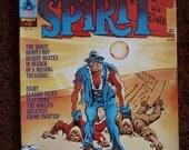 The Spirit Wil Eisner 1974 No 5 Warren Magazine Crime Fighter Desert Ice Hamid Jebru Illustration Art