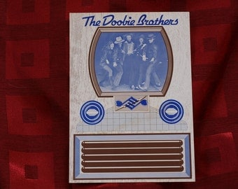 Doobie Brothers Postcard Promotional Announcement Television Show with Rolling Stones Don Kirschner's Rock Concert First Show