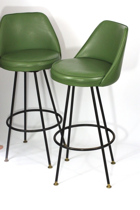 Items Similar To Sold Pair Midcentury Modern Avocado Green