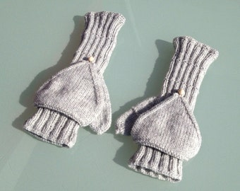 Convertible Mittens ,Fingerless Gloves ,Winter Gloves ,Winter Accessories ,Gifts for her gift , valentines day , valentines Gifts