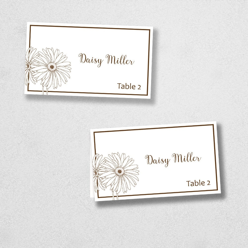 It is a graphic of Gutsy Avery Printable Place Cards