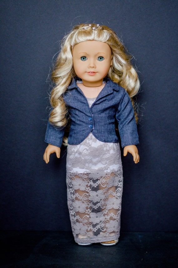 The Becky Blazer for American Girl and other 18 inch dolls