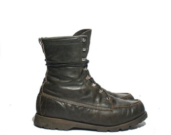10.5 EE | Ted Williams Sport Boots Green Hunting Swamp Boots Men's Hikers