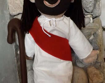 Jesus Doll Plush Handmade Kingdom of God Rag Doll