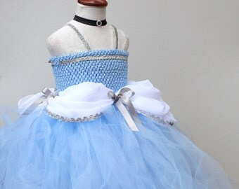 Cinderella Dress- Disney Princess Dress - Cindrella Blue princess costume - Princess Dress