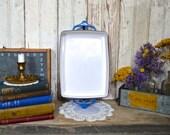 Vintage Blue Dansk Kobenstyle Enamel Cookware Casserole Pan Dishes IHQ Enameled Jens Quistgaard Dutch Oven