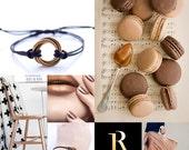 Brass Infinity Bracelet, Infinity Love Bracelet, Infinity Cord Bracelet, Couple Bracelet
