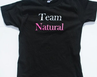Small Team Natural Fitted T-Shirt