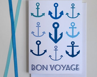 Bon Voyage Card - Single Card