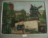 Vintage Hane's Satin Hosiery Box RESERVED for Monica
