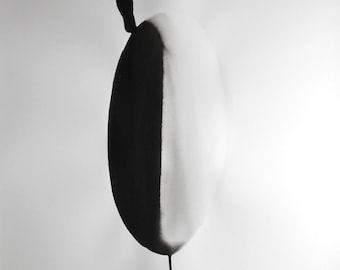 """A1 Zen Abstract Fine Art  Hand Painted Black & White Ink Painting 23.4x33.1"""" Other 1128"""""""
