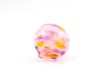 Hand Blown Glass Ornament -O25