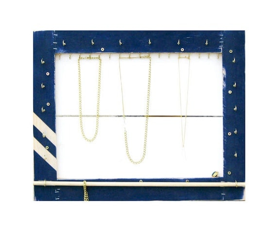 Jewelry Organizer // Necklace Display, Bracelet Storage, Ring Holder // Sunglass Storage & Organization / Eco-Friendly Reclaimed Wood / Gift