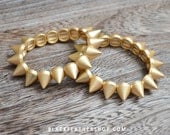 Spike Bracelet - Renegade Gold Spike Bracelet