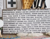A Prayer for my Son - Wooden Sign