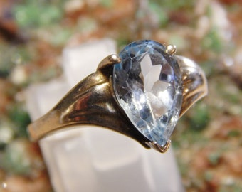 Sterling Blue Spinel Ring