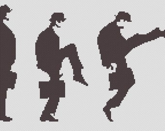 PATTERN: Monty Python Ministry of Silly Walks