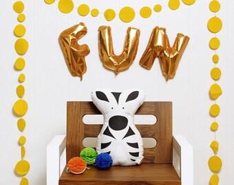 Zeus Zebra stuffed animal softie eco friendly baby children baby nursery home decor gift