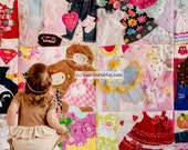 Memory Quilt | Baby Clothes Quilt | Memory Blanket