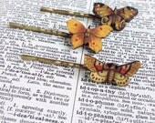 Butterfly Bobby Pin Moth Fashion Hair Accessory Insect Trends