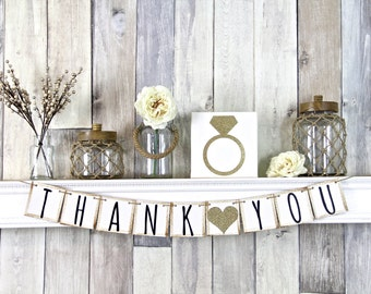 Thank You Sign, Thank you Banner, Thank you Prop, Thank you Card